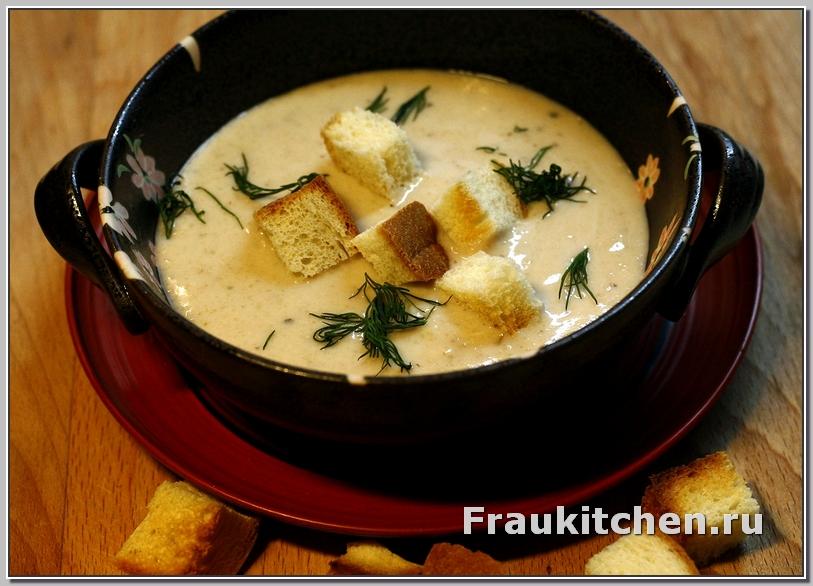 Суп пюре из каштанов это очень вкусно