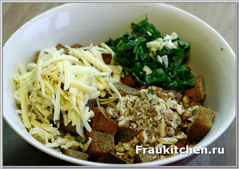 кинзу в салате можно заменить петрушкой