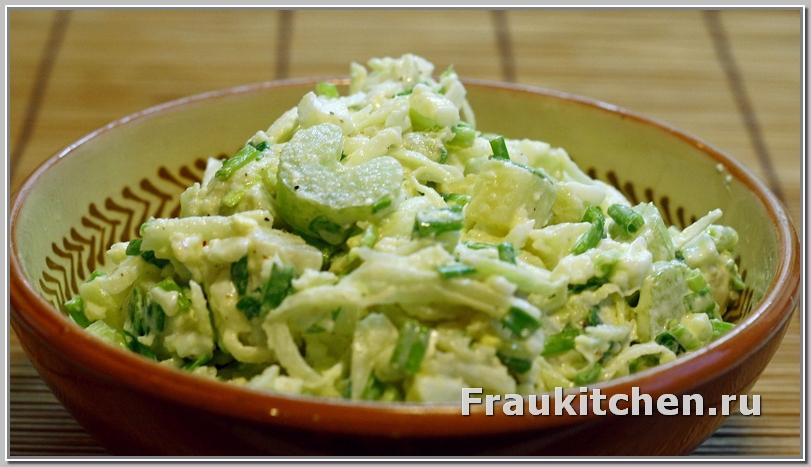 Салат картофельный зимний