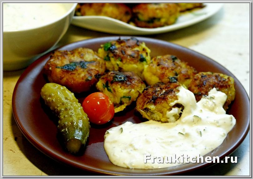 Крокеты Картофельные с Рыбой по Магрибски
