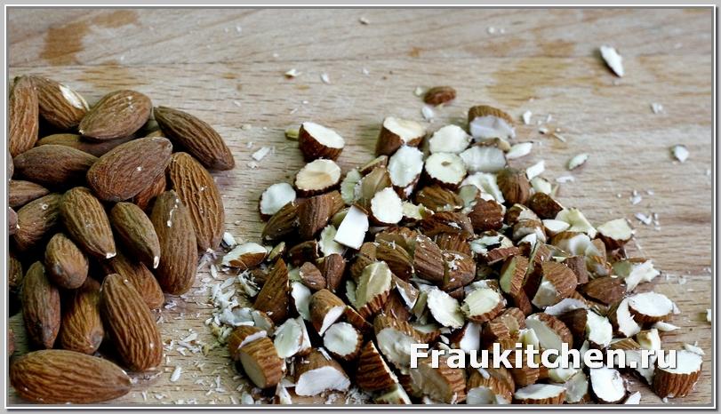 миндаль для салата тиффани можно заменить грецкими орехами