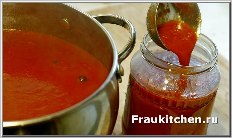 из 800 гр томатной пасты получается более 3 л кубанского соуса