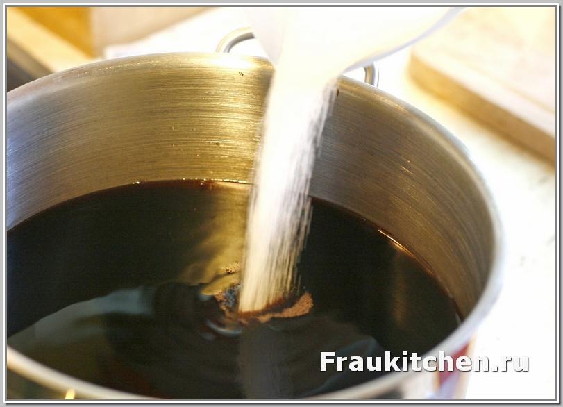 сахаром можно отрегулировать кислоту соуса наршараб