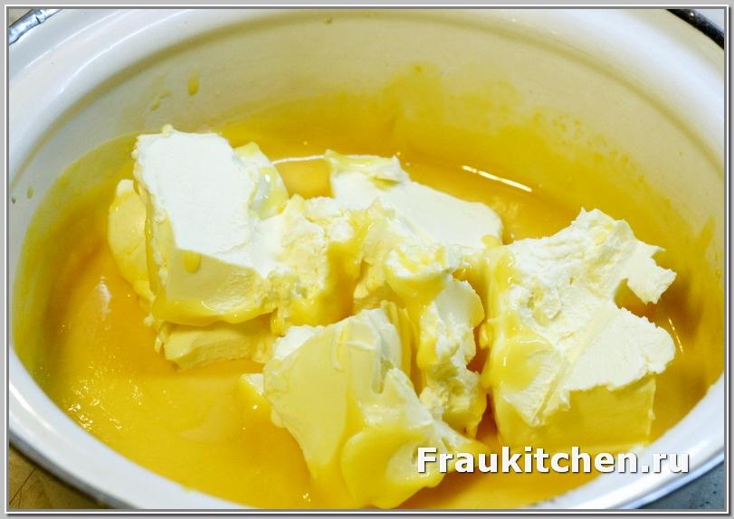 Масло для крема должно быть размягченное