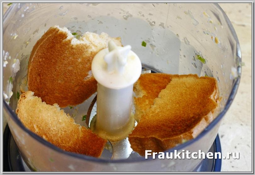Сушить хлеб удобно в духовке или гриле