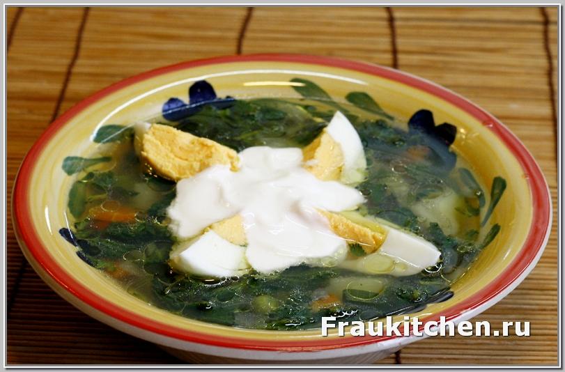 Овощной Суп из Крапивы
