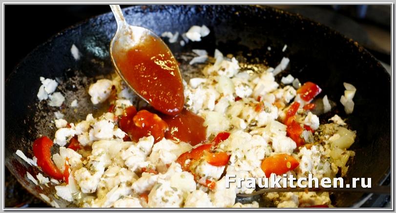 Кубанский соус можно заменить томатной пастой