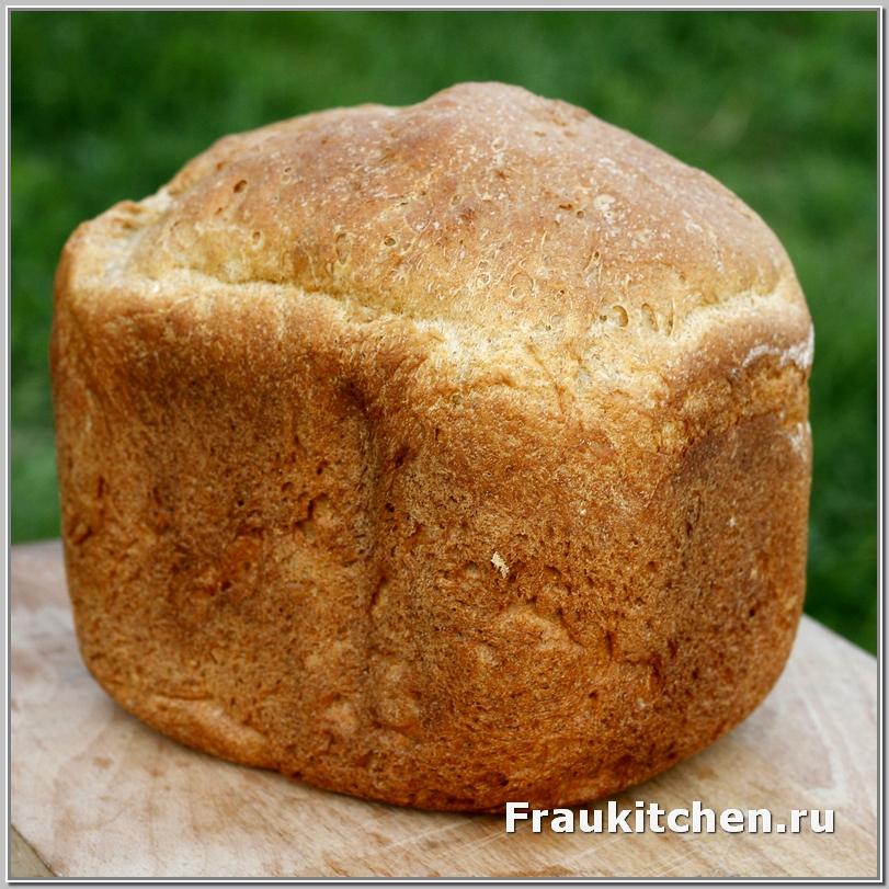 Пшенично-ржаной хлеб готов