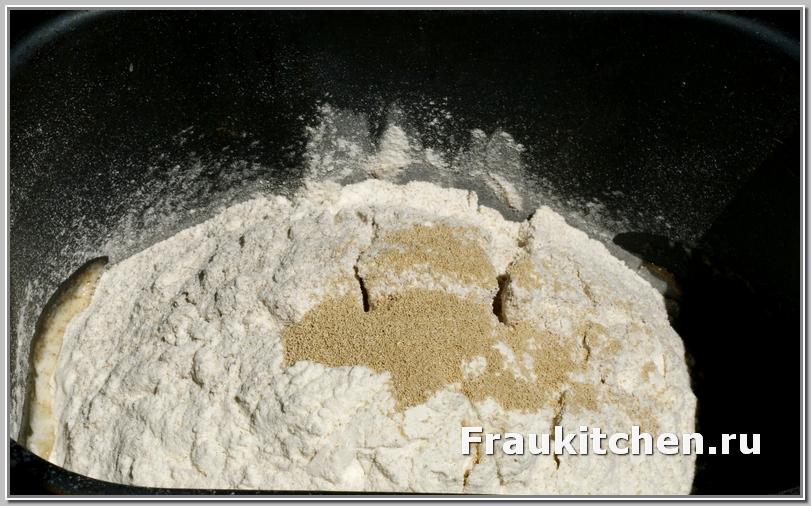 Все готово для хлебопечки