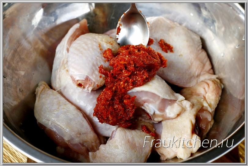 Проколы или надрезы обеспечат лучшее маринование куриных ножек