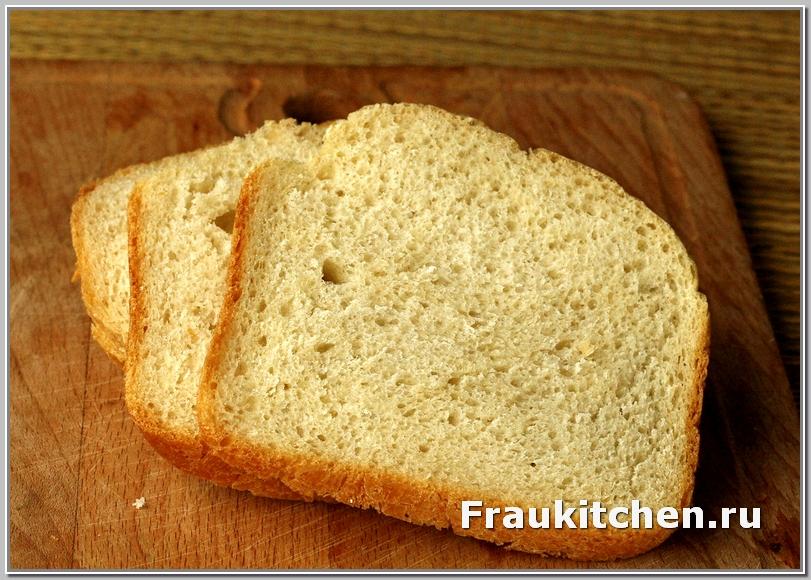 Хлеб для бутербродов я тоже пеку сама