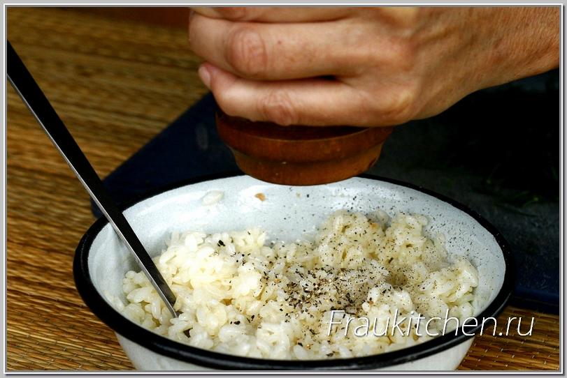 Рис любит перец