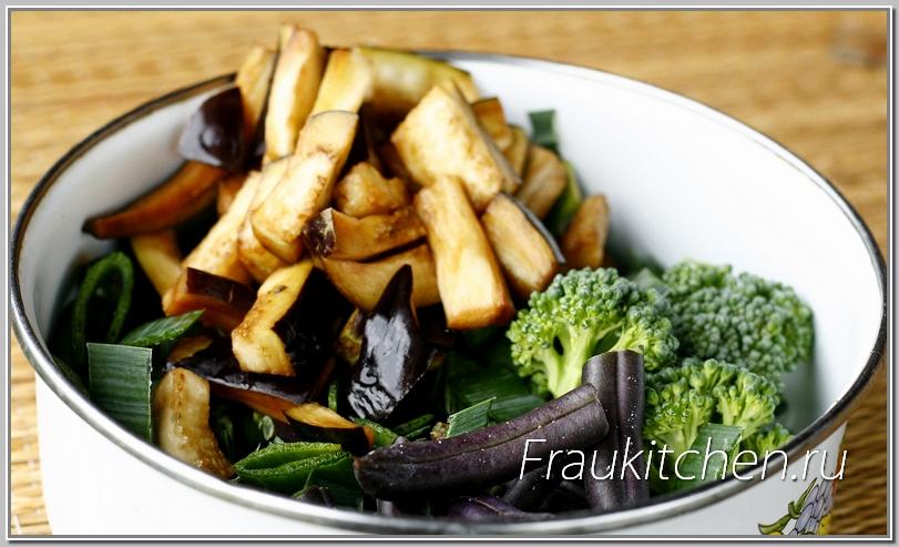 Состав овощей можно варьировать по своему вкусу