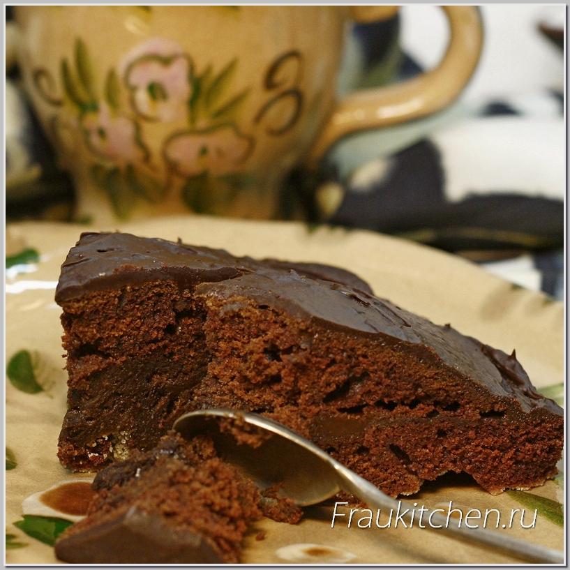 Быстрый Торт с Шоколадным Кремом Ganache