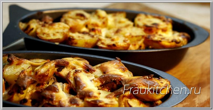 Картофельная Запеканка с Курицей и Тимьяном