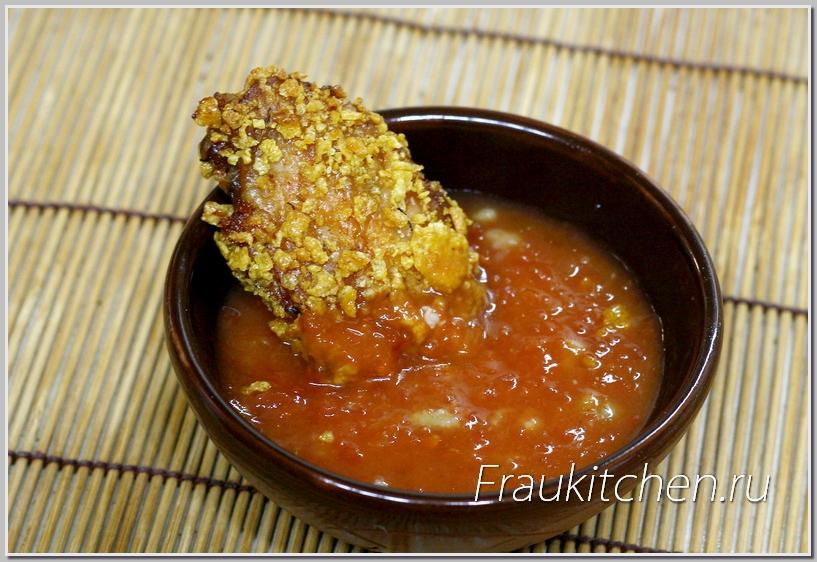 Чесночный томатный соус